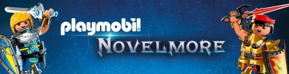 Nouvelle gamme Playmobil Novelmore