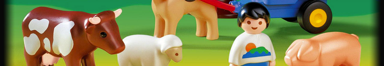 Achat PLAYMOBIL 123 6745 Puzzle Animaux sauvages pas cher