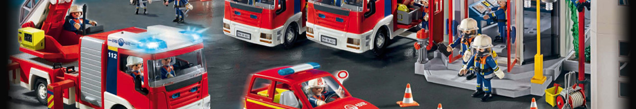 Achat PLAYMOBIL City Action 5615 Pick-up rouge pas cher