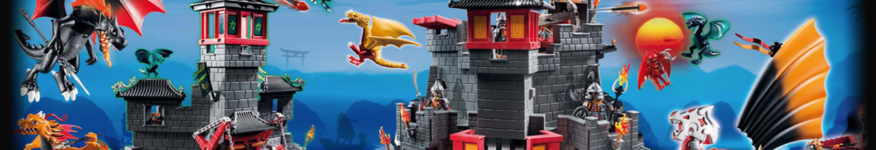 Achat PLAYMOBIL Dragons 5609 Valisette Chevaliers Dragon Asie pas cher
