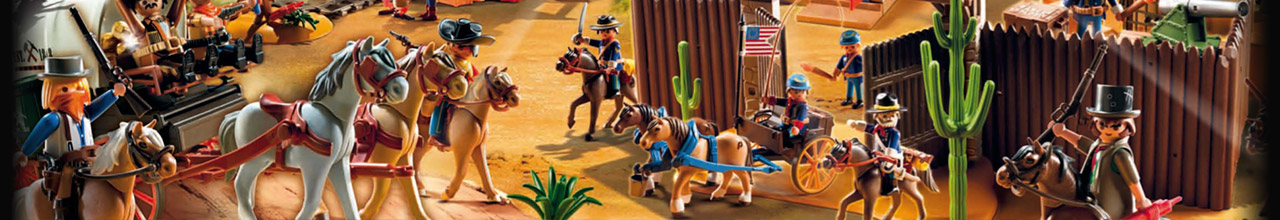 Achat PLAYMOBIL Western 70012 Coffret de Far-West transportable pas cher