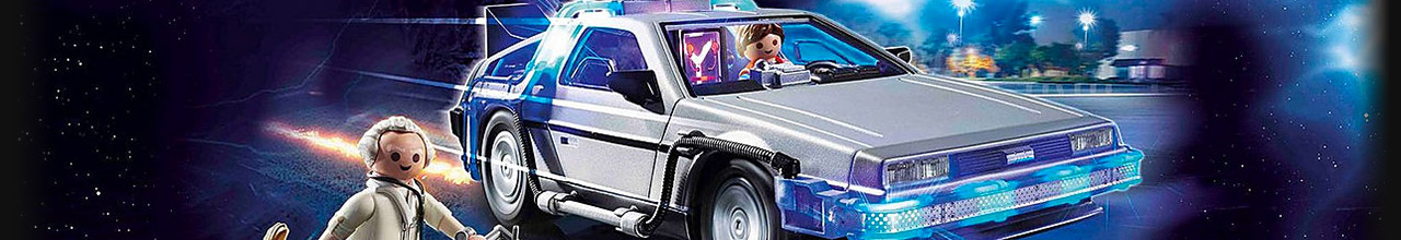Achat PLAYMOBIL Back to the Future pas cher