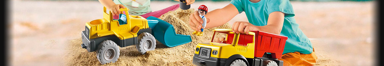 Achat PLAYMOBIL Sand 9144 Camion citerne pas cher