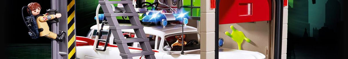 Achat PLAYMOBIL Ghostbusters 9347 Ghostbuster Peter Venkman pas cher