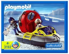 PLAYMOBIL Action 3192 Expédition Hovercraft