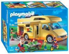 PLAYMOBIL Family Fun 3647 Famille / camping car