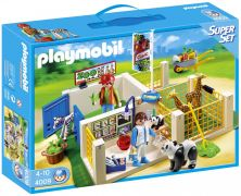 PLAYMOBIL City Life 4009 Superset Clinique vétérinaire