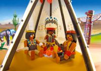 PLAYMOBIL Western 4012 SuperSet Campement des Indiens