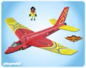 PLAYMOBIL Sports & Action 4214 Planeur Extreme