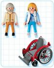 PLAYMOBIL City Action 4226 Doctoresse / malade / fauteuil roulant