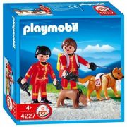PLAYMOBIL City Life 4227 Secouristes / chiens sauveteurs