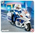 PLAYMOBIL City Action 4262 Motard de police