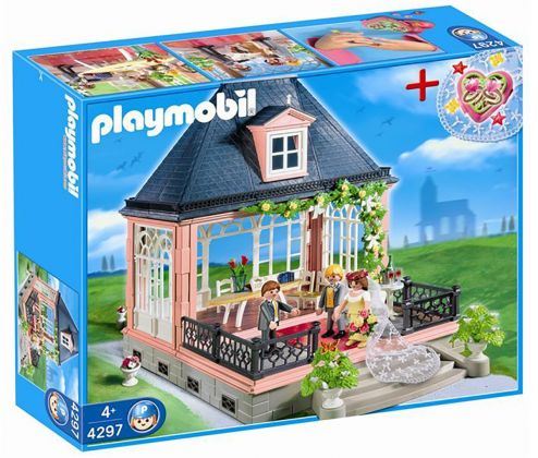 PLAYMOBIL City Life 4297 Salle des mariages