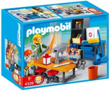 PLAYMOBIL City Life 4326 Classe de technologie