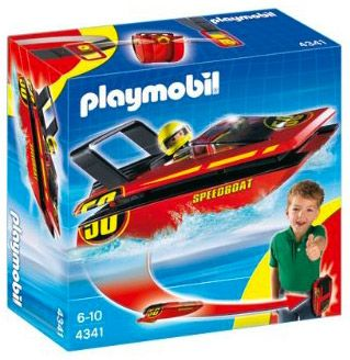 PLAYMOBIL Sports & Action 4341 Hors-bord à emporter