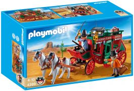 PLAYMOBIL Western 4399 - Diligence pas cher