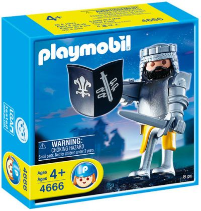PLAYMOBIL Knights 4666 Seigneur et Armure
