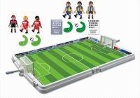 PLAYMOBIL Sports & Action 4725 Terrain de football transportable
