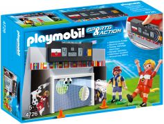 PLAYMOBIL Sports & Action 4726 Mur de tir au but et joueurs