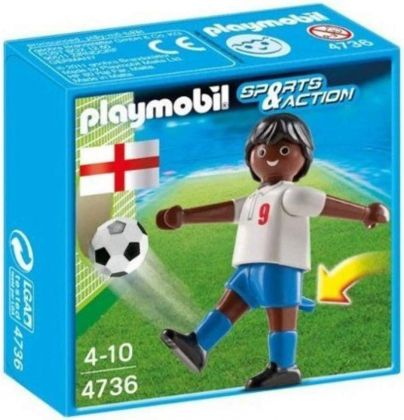 PLAYMOBIL Sports & Action 4736 Joueur équipe Angleterre B