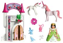 PLAYMOBIL Fairies 4777 Donjon de la licorne transportable