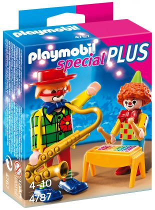PLAYMOBIL Special Plus 4787 Clowns musiciens