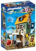 PLAYMOBIL Super 4 4796 Fort des pirates camouflé avec Ruby