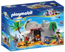PLAYMOBIL Super 4 4797 - Caverne des pirates pas cher