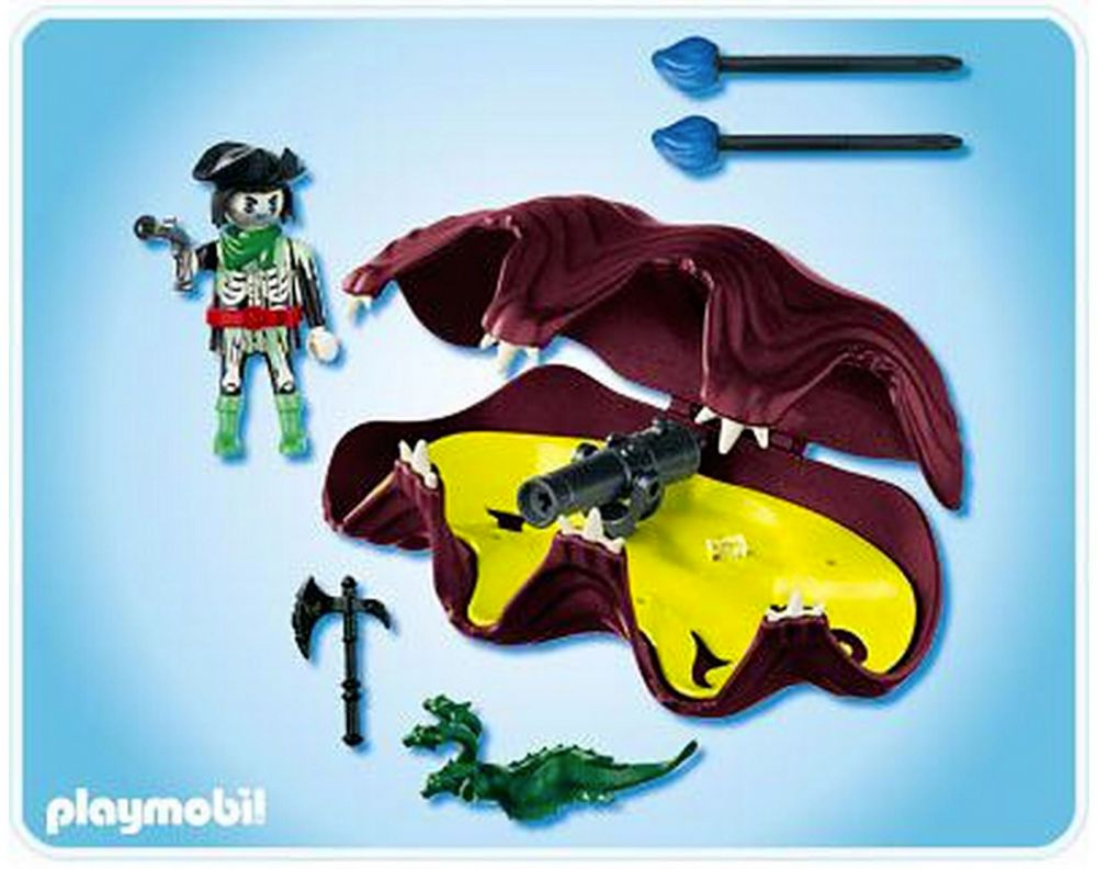 Playmobil pirates 4802 pas cher pirate fant me et - Pirate fantome ...