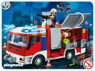 PLAYMOBIL City Action 4821 Fourgon d'intervention de pompier