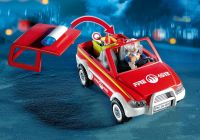PLAYMOBIL City Action 4822 Voiture de pompier