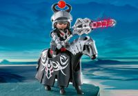 PLAYMOBIL Dragons 4841 Cavalier Dragon Rouge avec lance lumineuse
