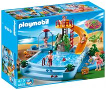 PLAYMOBIL Family Fun 4858 Piscine avec toboggan