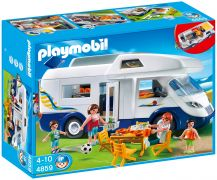 PLAYMOBIL Summer Fun 4859 Grand camping-car familial