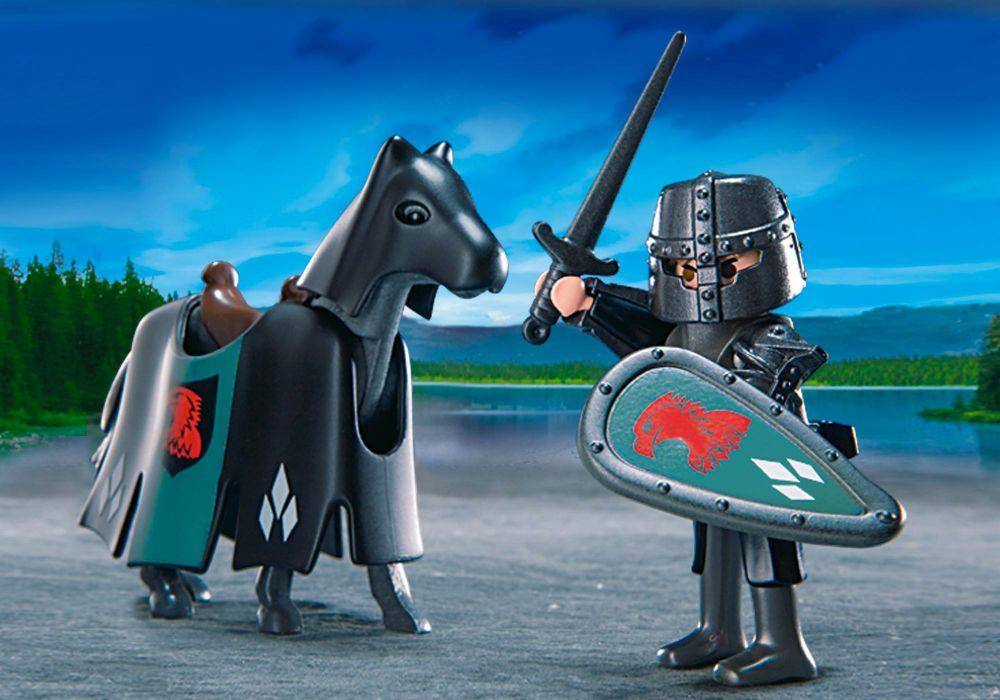 Playmobil knights 4873 pas cher chevaliers du faucon for Playmobil 4865 prix