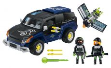 PLAYMOBIL Top Agents 4878 4x4 du Robo-Gang