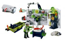 PLAYMOBIL Top Agents 4880 Labortaoire du Robo-Gang et lampe multifonctions