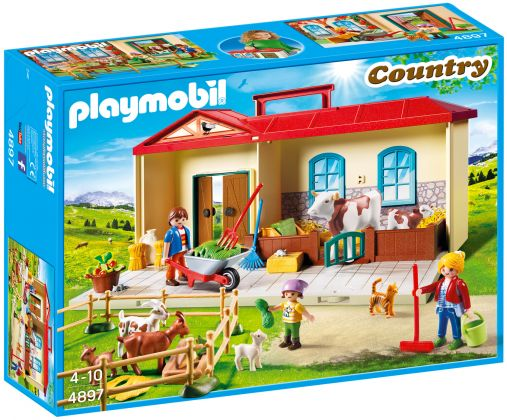 PLAYMOBIL Country 4897 Ferme transportable