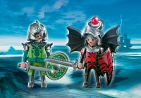 PLAYMOBIL Knights 4912 Duo chevaliers Dragon