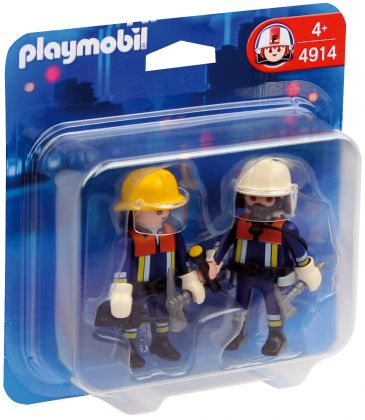PLAYMOBIL City Action 4914 Duo pompiers