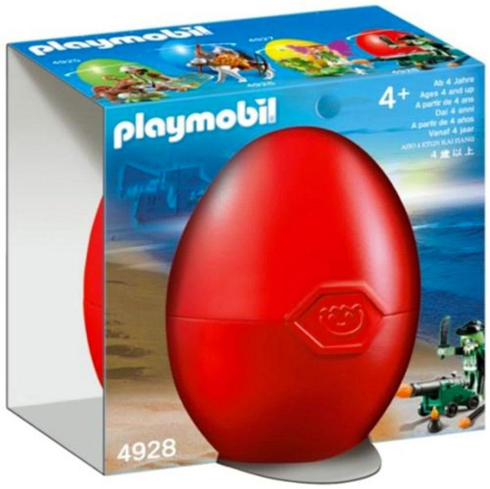 playmobil oeufs de p ques 4928 pas cher pirate fant me avec canon. Black Bedroom Furniture Sets. Home Design Ideas