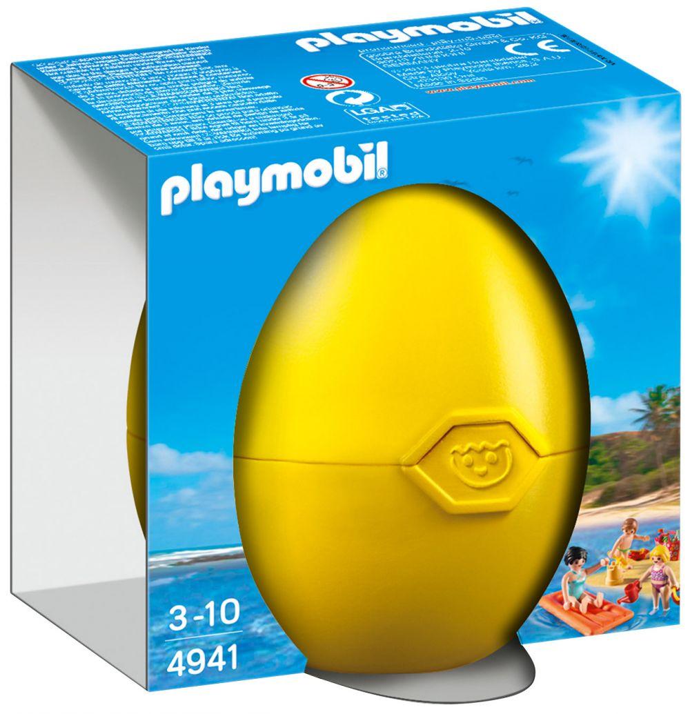 Playmobil oeufs de p ques 4941 pas cher famille la plage - Oeuf de paques pas cher ...