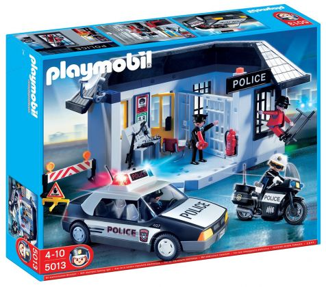 PLAYMOBIL City Action 5013 Set complet de police américaine