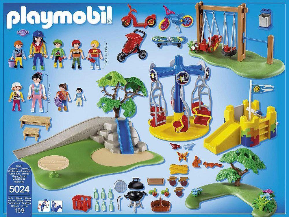 PLAYMOBIL City Life 5024 pas cher - Grand jardin d\'enfants