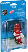 PLAYMOBIL Sports & Action 5076 Gardien de but des Detroit Red Wings (NHL)