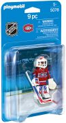 PLAYMOBIL Sports & Action 5078 Gardien de but des Canadiens de Montréal (NHL)