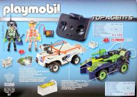PLAYMOBIL Top Agents 5088 IR Future Cars