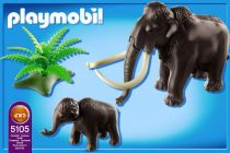 PLAYMOBIL History 5105 Mammouth et son petit