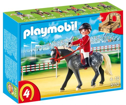 PLAYMOBIL Country 5110 Cheval Trakehner et cavalière