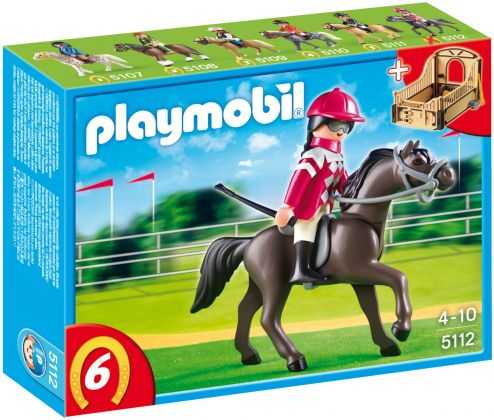 PLAYMOBIL Country 5112 Pur-sang arabe et jockey